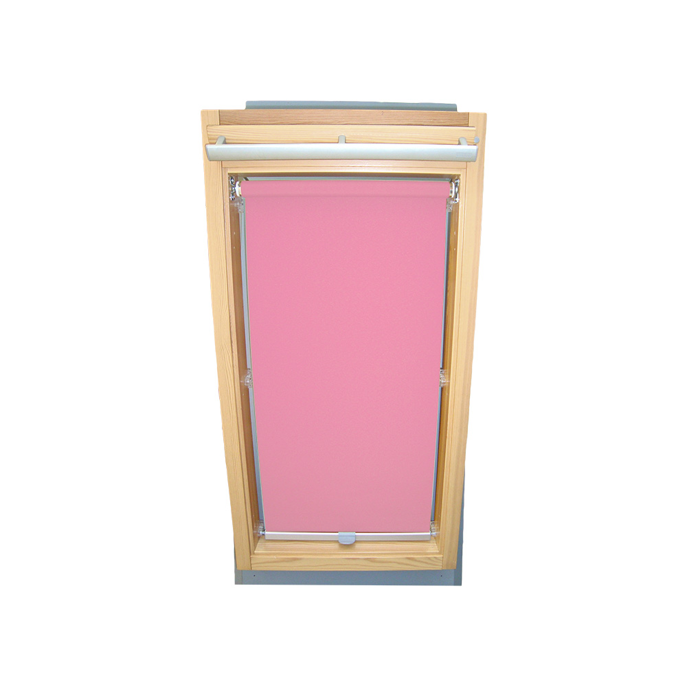 dachfensterrollo sichtschutz f r velux dachfenster ggu gpu ghu rosa ebay. Black Bedroom Furniture Sets. Home Design Ideas
