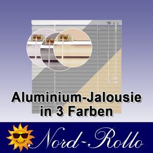 Alu-Aluminium Jalousie Rollo Jalousette 130 x 100 cm / 130x100 cm in weiss, silb
