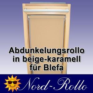 Abdunkelungsrollo Rollo für Blefa BL 24 (ab Baureihe 1980) beige-karamell