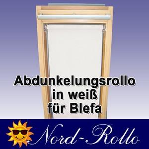 Abdunkelungsrollo Rollo für Blefa BL 24 (ab Baureihe 1980) weiss