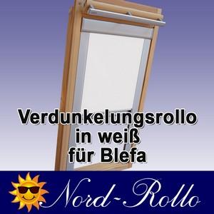 Verdunkelungsrollo Rollo für Blefa BL 24 ( Ab 1980 ) weiss