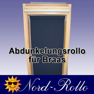 Abdunkelungsrollo Rollo für Braas Holz Typ BK+BL 70/80 - 12 Farben