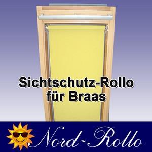 Sichtschutzrollo Rollo für Braas Holz Typ BK+BL 100/110 - 12 Farben