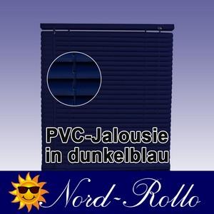 PVC Jalousie Jalousien Jalousette 120 x 220 / 120x220 cm in dunkelblau
