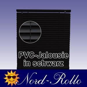 PVC Jalousie Jalousien Jalousette 100 x 160 / 100x160 cm in schwarz