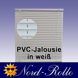 PVC Jalousie Jalousien Jalousette 110 x 220 / 110x220 cm in weiss