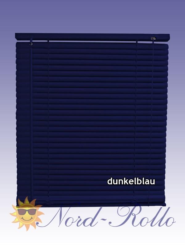 PVC Jalousie Jalousien Jalousette 110 x 220 / 110x220 cm in dunkelblau
