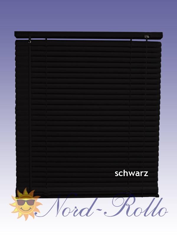 PVC Jalousie Jalousien Jalousette 110 x 220 / 110x220 cm in schwarz