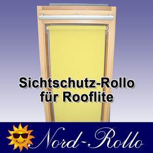 Sichtschutzrollo Rollo für Rooflite C2A 55x78 - 12 Farben