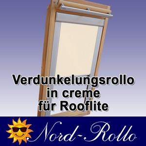 Verdunkelungsrollo Rollo für Rooflite DUR-EP C2A 55x78 creme
