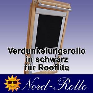 Verdunkelungsrollo Rollo für Rooflite DUR-EP C2A 55x78 schwarz