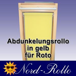 Abdunkelungs-Rollo mit Haltekrallen für Roto 61_,62_,84_ H 10/11 gelb