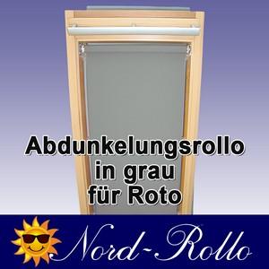 Abdunkelungs-Rollo mit Haltekrallen für Roto 61_,62_,84_ H 10/11 grau