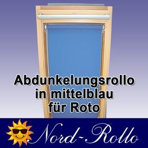 Abdunkelungs-Rollo mit Haltekrallen für Roto 61_,62_,84_ H 11/11 mittelblau