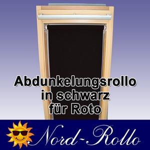 Abdunkelungs-Rollo mit Haltekrallen für Roto 61_,62_,84_ H 11/11 schwarz