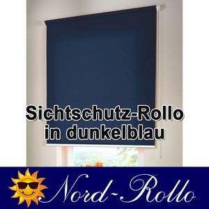 Sichtschutzrollo Mittelzug- oder Seitenzug-Rollo 120 x 170 cm / 120x170 cm dunke