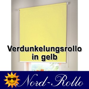 verdunkelungsrollo mittelzug oder seitenzug rollo 130 x 140 cm 130x140 cm gelb. Black Bedroom Furniture Sets. Home Design Ideas