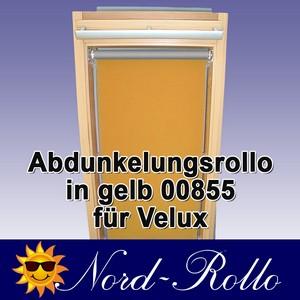 Abdunkelungsrollo Rollo Thermo gelb für Velux DG/RG-EP VL,VG,VX 085 ALU