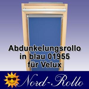 Abdunkelungsrollo Rollo Thermo blau für Velux DG/RG-EP VL,VG,VX 021 ALU