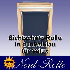 Sichtschutzrollo Rollo für Velux RG-EP VL,VG,VX 043 dunkelblau