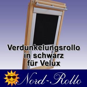 Verdunkelungsrollo Rollo mit Seitenschienen für Velux DG-EP VL,VG,VX 085 schwarz