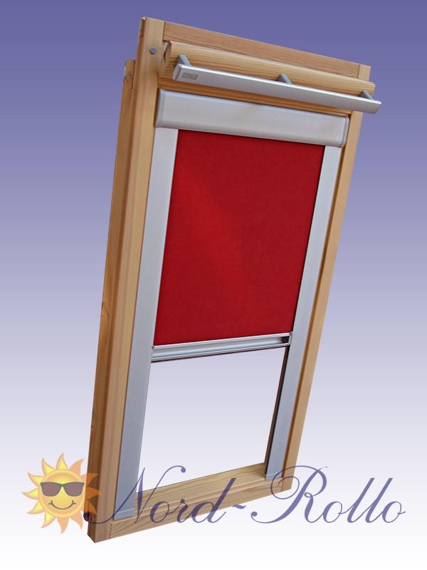 Verdunkelungsrollo Rollo mit Seitenschienen für Velux DG-EP VL,VG,VX 085 - 12 Farben