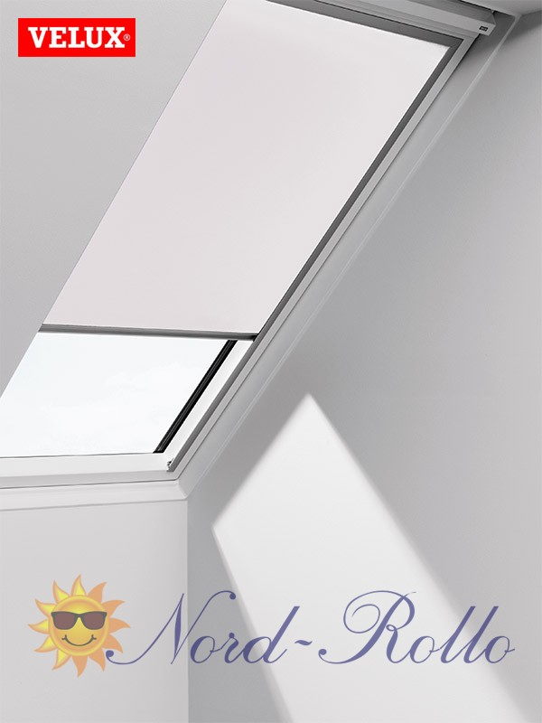 original velux verdunkelungsrollo rollo f r ggu gpu ghu dku 406 1025 weiss. Black Bedroom Furniture Sets. Home Design Ideas