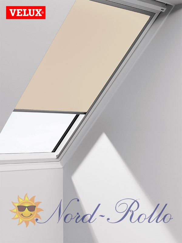 original velux verdunkelungsrollo rollo f r vl vf vt dg 087 1085s creme. Black Bedroom Furniture Sets. Home Design Ideas